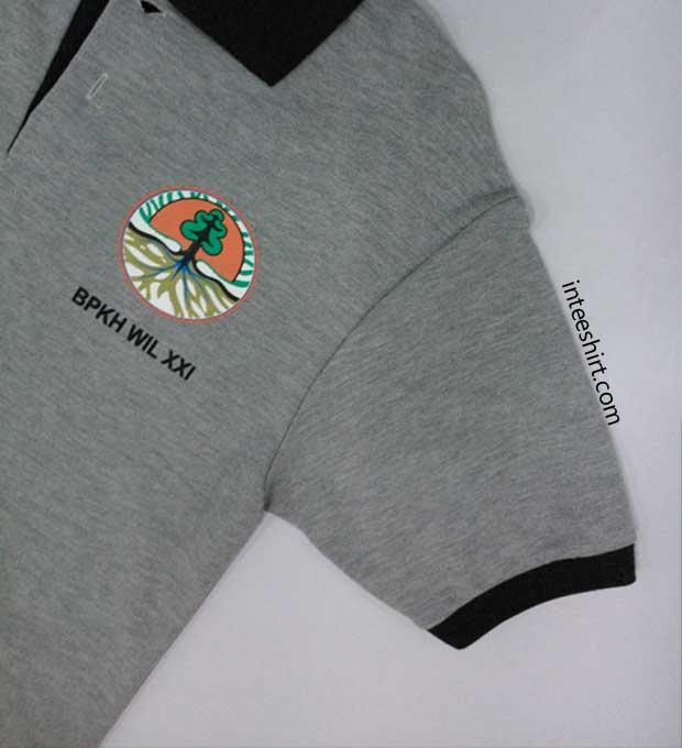 Polo Shirt Beda Manset