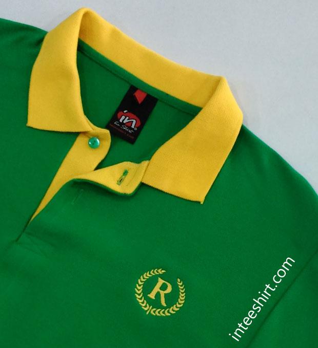 Polo Shirt Paspol Belah